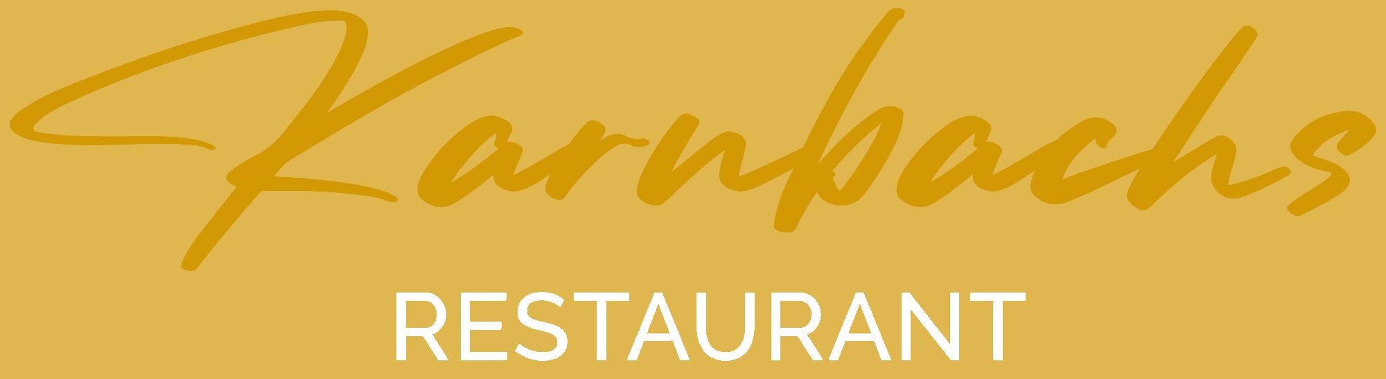 Restaurant Karnbachs Rz Weisser Slogan